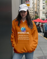 Henderson girl knows more than Hooded Sweatshirt lifestyle-unisex-hoodie-front-5