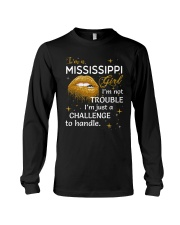 Mississippi girl im not trouble Long Sleeve Tee thumbnail