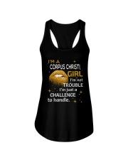 Corpus Christi girl im not trouble Ladies Flowy Tank thumbnail