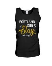 Portland girls slay all day Unisex Tank thumbnail