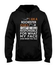 Rochester girl  i cant be held for Hooded Sweatshirt thumbnail