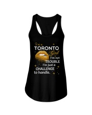 Toronto girl im not trouble Ladies Flowy Tank thumbnail