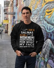 Salinas girl  i cant be held for Crewneck Sweatshirt lifestyle-unisex-sweatshirt-front-2