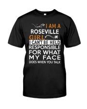 Roseville girl  i cant be held for Classic T-Shirt thumbnail