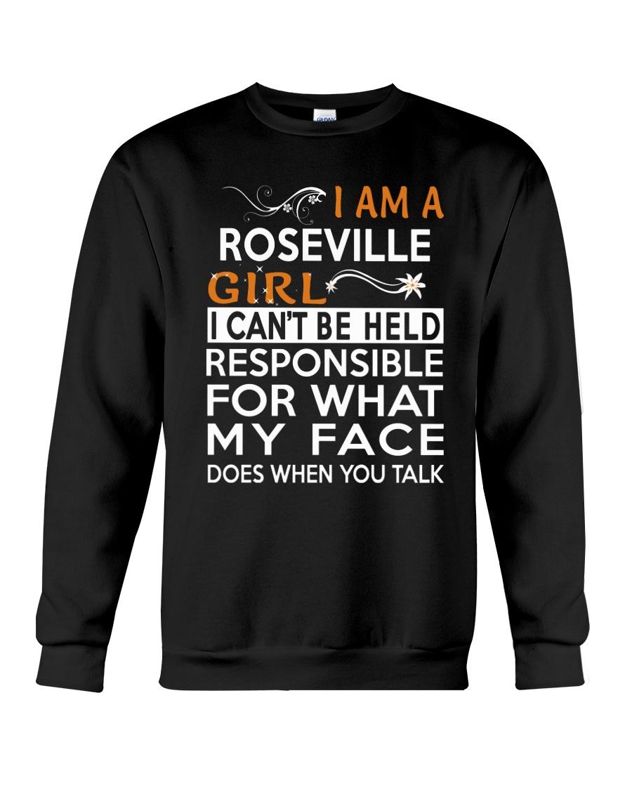Roseville girl  i cant be held for Crewneck Sweatshirt