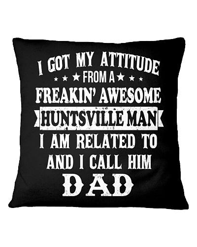 got my attitude from Huntsville man