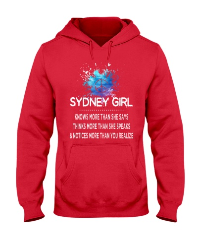 Sydney girl knows more than
