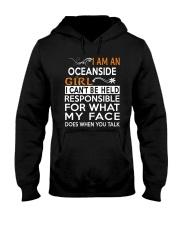 Oceanside girl  i cant be held for Hooded Sweatshirt thumbnail