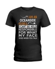 Oceanside girl  i cant be held for Ladies T-Shirt thumbnail