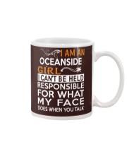 Oceanside girl  i cant be held for Mug thumbnail