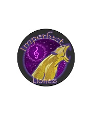 Imperfect Lioness Logo 2020 Circle Magnet thumbnail