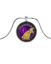 Imperfect Lioness Logo 2020 Metallic Circle Necklace thumbnail