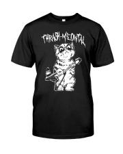 Thrash Meowtal Shirt Classic T-Shirt front