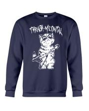 Thrash Meowtal Shirt Crewneck Sweatshirt thumbnail