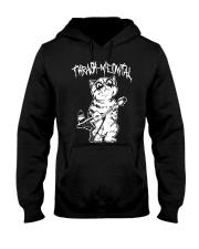 Thrash Meowtal Shirt Hooded Sweatshirt thumbnail