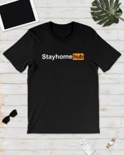 Stayhomehub Shirt Classic T-Shirt lifestyle-mens-crewneck-front-17