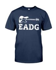 Bass Guitar Eadg Shirt Classic T-Shirt tile