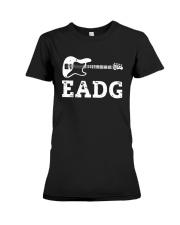 Bass Guitar Eadg Shirt Premium Fit Ladies Tee thumbnail