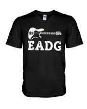 Bass Guitar Eadg Shirt V-Neck T-Shirt thumbnail