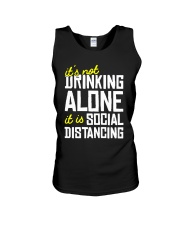 Its Not Drinking Alone It Is Social Shirt Unisex Tank thumbnail