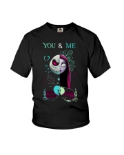 Jack Skellington And Sally You And Me Shirt Youth T-Shirt thumbnail