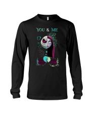Jack Skellington And Sally You And Me Shirt Long Sleeve Tee thumbnail