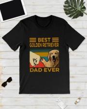 Vintage Best Golden Retriever Dad Ever Shirt Classic T-Shirt lifestyle-mens-crewneck-front-17