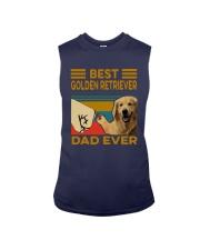 Vintage Best Golden Retriever Dad Ever Shirt Sleeveless Tee thumbnail