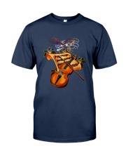 Violin Sheet Shirt Classic T-Shirt tile