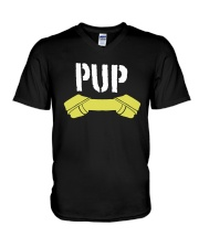 Pup Shirt V-Neck T-Shirt tile