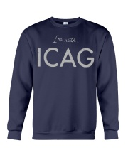 I'm With Icag Shirt Crewneck Sweatshirt thumbnail