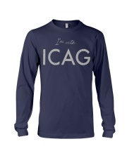 I'm With Icag Shirt Long Sleeve Tee thumbnail