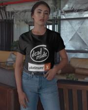 Dead Inside Platinum Shirt Classic T-Shirt apparel-classic-tshirt-lifestyle-05