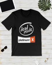 Dead Inside Platinum Shirt Classic T-Shirt lifestyle-mens-crewneck-front-17