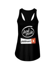 Dead Inside Platinum Shirt Ladies Flowy Tank thumbnail
