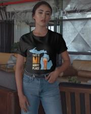 Beer This Is Mi Hoppy Place Shirt Classic T-Shirt apparel-classic-tshirt-lifestyle-05