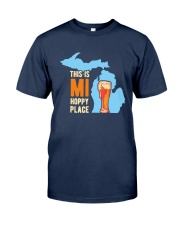 Beer This Is Mi Hoppy Place Shirt Classic T-Shirt tile