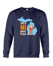 Beer This Is Mi Hoppy Place Shirt Crewneck Sweatshirt thumbnail