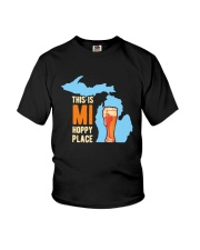 Beer This Is Mi Hoppy Place Shirt Youth T-Shirt thumbnail