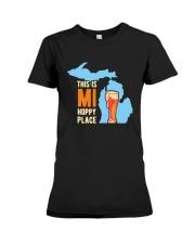 Beer This Is Mi Hoppy Place Shirt Premium Fit Ladies Tee thumbnail