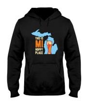 Beer This Is Mi Hoppy Place Shirt Hooded Sweatshirt thumbnail