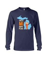 Beer This Is Mi Hoppy Place Shirt Long Sleeve Tee thumbnail