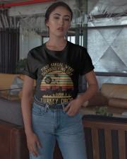 Vintage First Annual Wkrp Turkey Drop Shirt Classic T-Shirt apparel-classic-tshirt-lifestyle-05