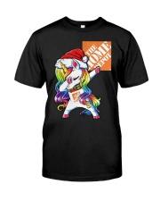 Unicorn Dabbing The Home Depot Shirt Classic T-Shirt front