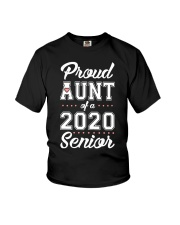 Proud Aunt Of A 2020 Senior Shirt Youth T-Shirt thumbnail
