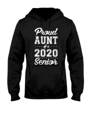 Proud Aunt Of A 2020 Senior Shirt Hooded Sweatshirt tile