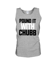 Pound It With Chubb Shirt Unisex Tank tile