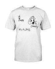Audrey Drawing Daddy Danny Nsplove Shirt Classic T-Shirt front