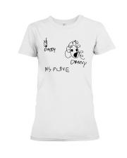 Audrey Drawing Daddy Danny Nsplove Shirt Premium Fit Ladies Tee thumbnail