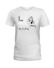 Audrey Drawing Daddy Danny Nsplove Shirt Ladies T-Shirt thumbnail
